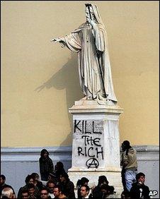Greek Communists Kill the Rich