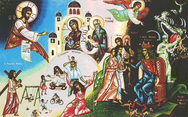 Orthodox Anti-Abortion Icon
