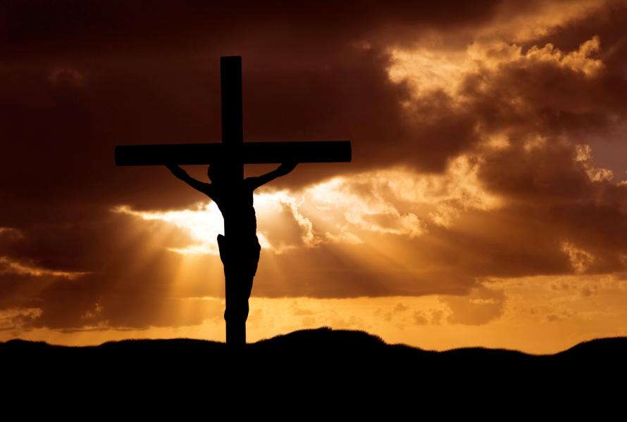 Jesus Christ on the Cross on Golgotha