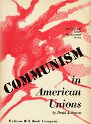 Unions America Communist Radicals