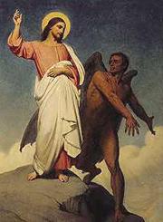 Jesus Christ Desert Warfare Satan
