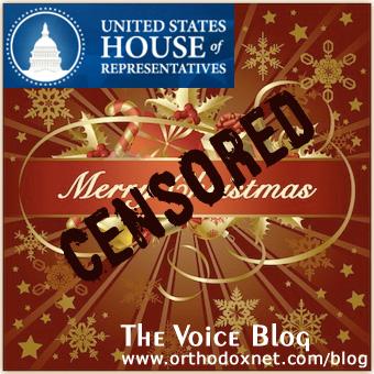 Congress Censors Merry Christmas Messages Political Corectness run wild