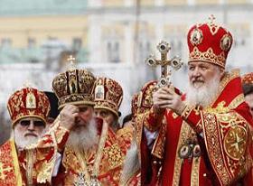 Russian Orthodox Christian Bishops Patriarch Kirill
