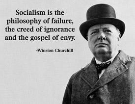 Winston Churchill on Socialism