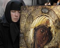 Orthodox Nun Icon