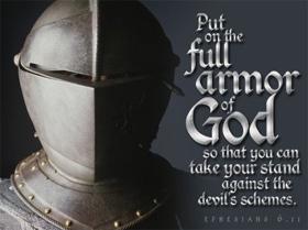 Spiritual Warfare Full armor of God