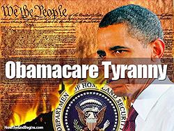 ObamaCare Tyranny Leftist Tyranny
