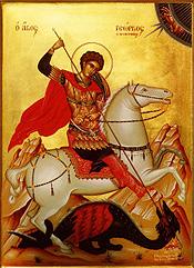St George Slays Dragon