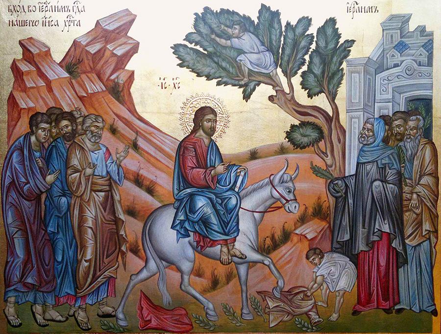 Palm Sunday - Homily on Holy Communion